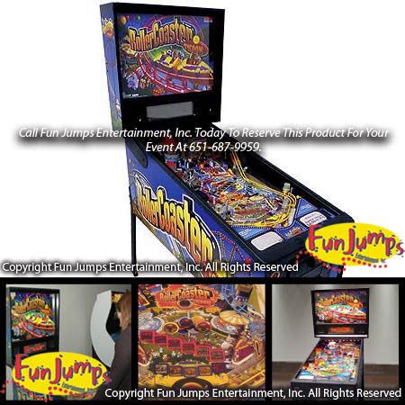 roller coaster pinball machine