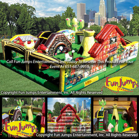 Learning Farm Playland Minnesota Inflatable Party Rental Minneapolis MN Inflatables Rentals Event