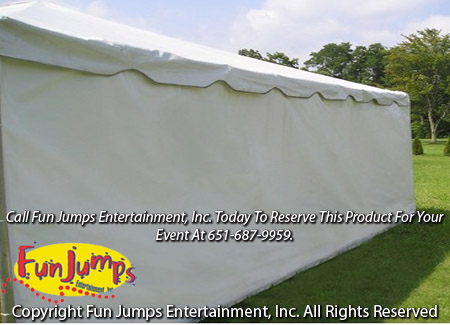 Frame Tent Sidewall 30' Side Tent Rental, Twin Cities Party